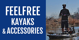 Feelfree kayaks and accessories